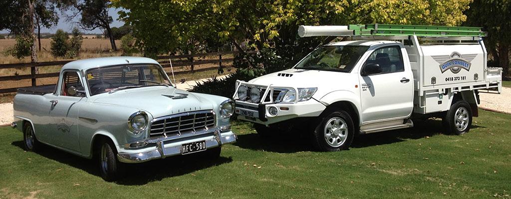 Quik Connect vehicles